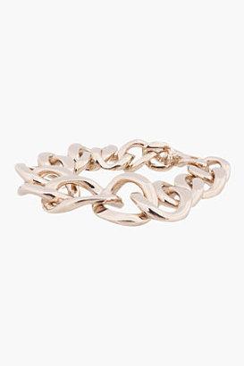 Givenchy Pale gold Symmetrical curb Chain Bracelet