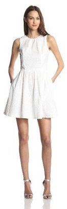 French Connection Women's Sunflower Cotton Dress