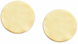 Kenneth Cole New York Earrings, Gold-Tone Hammered Small Round Stud Earrings