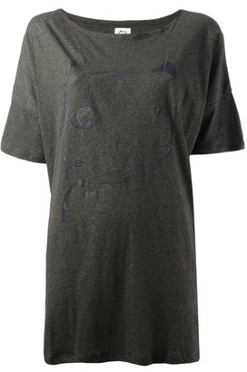 Tsumori Chisato Cats By loose fit t-shirt