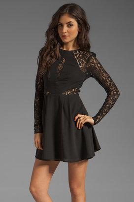 Keepsake Walking on a Dream Long Sleeve Dress