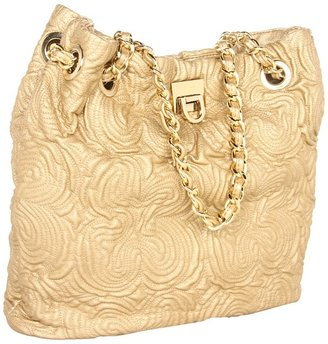 Ivanka Trump Rebecca Bucket Shopper (Gold) - Bags and Luggage