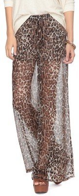 Forever 21 Leopard Palazzo Pants