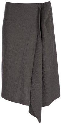 Yohji Yamamoto Drape insert skirt