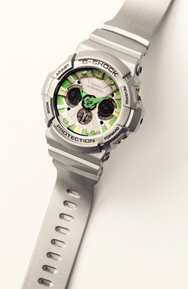 G-Shock 'X-Large' Dual Movement Watch, 55mm x 51mm