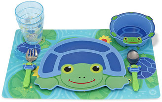 Melissa & Doug Kids Toys, Scootin' Turtle Mealtime Set