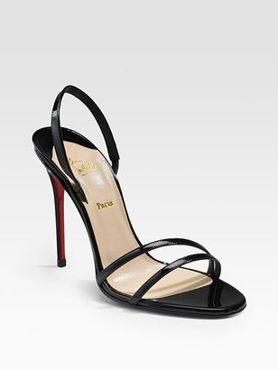 Christian Louboutin Anna Patent Leather Sandals