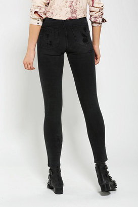 Urban Outfitters Neon Blonde Patch Skinny Jean