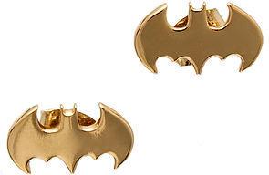Noir The x DC Comics Bat Wings Earrings in Gold