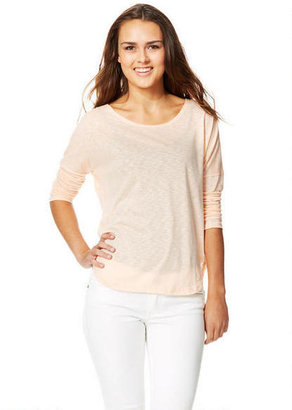 Delia's Lola Drop Shoulder Long-Sleeve Top