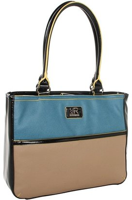 Kenneth Cole Reaction Greenwich Tech Tote (Blue) - Bags and Luggage