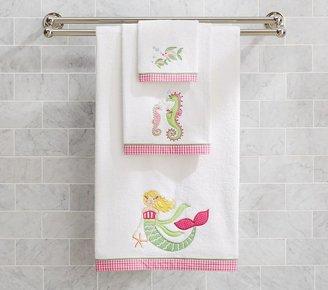 Pottery Barn Kids Mermaid Bath Towel Collection