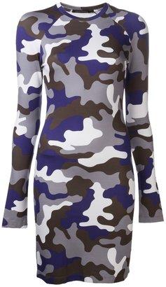 Christopher Kane camouflage bodycon dress