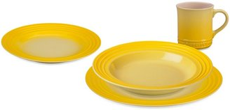 Le Creuset Dinnerware Collection in Soleil