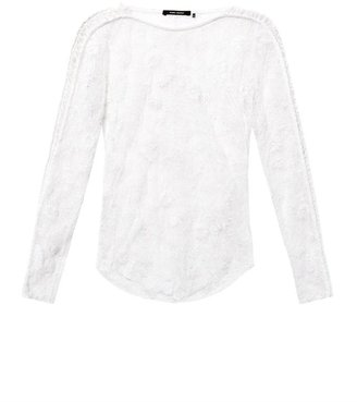 Isabel Marant Mora embroidered-lace top