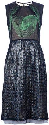 Marios Schwab Embroidered dress