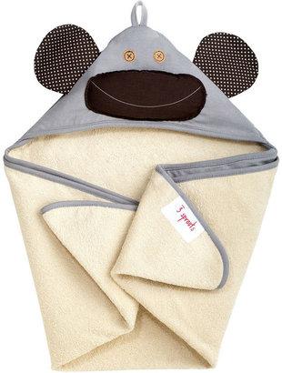 Milo Monkey Hooded Towel