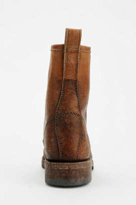 Frye Veronica Distressed Lace-Up Work Boot