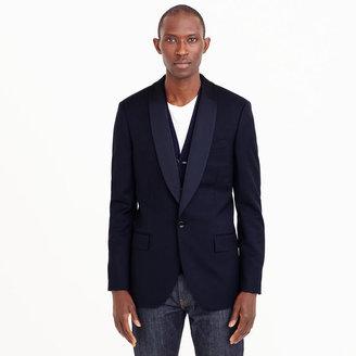 J.Crew Ludlow shawl-collar tuxedo jacket in Italian wool