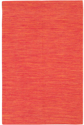 India Cotton Rug in Grapefruit