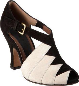 Marni Two-Tone Woven Sandal