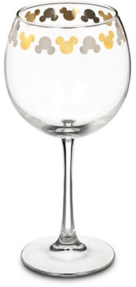 Disney Mickey Mouse Icon Goblet Wine Glass