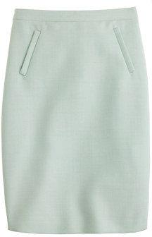 J.Crew Sterling skirt in double-serge wool