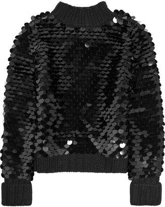 Karl Lagerfeld Kenya paillette-embellished sweater