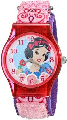 Disney Kids' W001966 Snow White Analog Display Analog Quartz Pink Watch