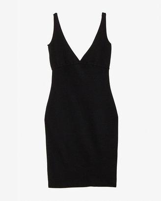 DSquared Dsquared2 Deep V Back Dress: Black