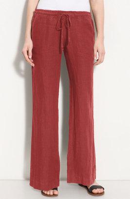 Allen Allen Drawstring Linen Pants