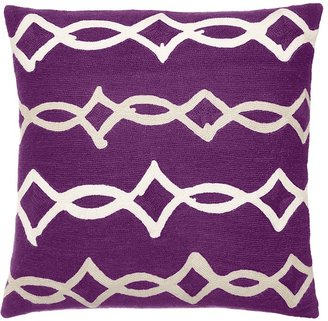 "Judy Ross Textiles Acrobat Decorative Pillow, 18"" x 18"""