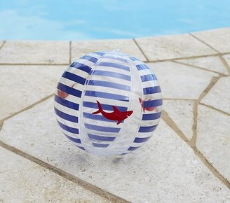 Pottery Barn Kids Blue Shark Small Beach Ball