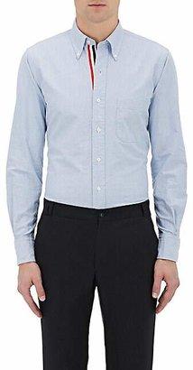 Thom Browne Men's Oxford Cloth Shirt - Blue