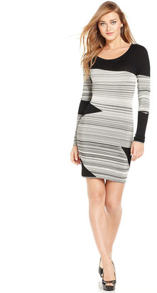GUESS by Marciano Striped Sweater Dress