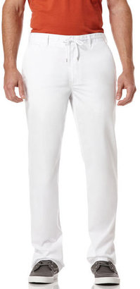 Perry Ellis Solid Drawstring Pant