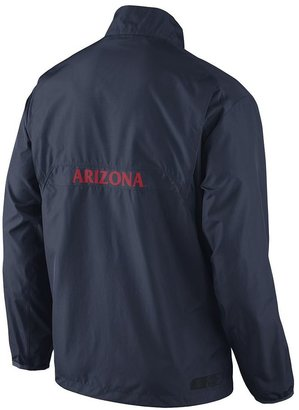 Nike arizona wildcats lockdown 1/2-zip performance jacket - men