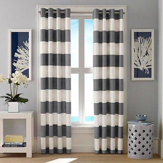 Cabana Stripe Cloud Curtain Panel Set