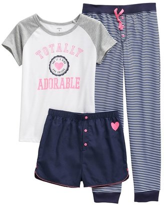 "Carter's totally adorable"" pajama set - girls"