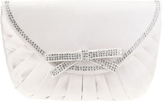 Nine West Flap Pleated Clutch