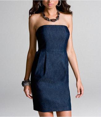 Express Denim Tube Dress