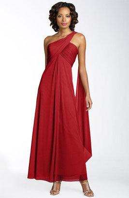 Alex Evenings One Shoulder Gown