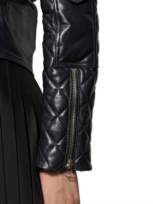J.W.Anderson Quilted Nappa Leather Biker Jacket