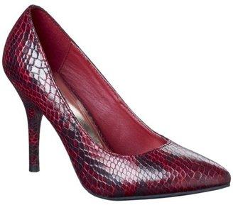 Mossimo Women's Vivian Pointy Heel - Cranberry