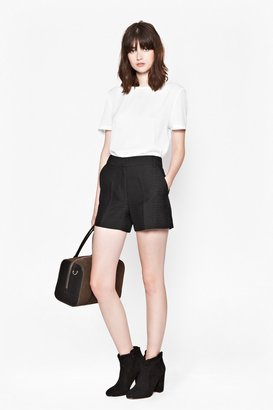 French Connection Croc Luxe Mini Shorts