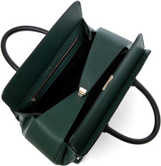 Victoria Beckham The Soft Victoria Bag in Forest Green