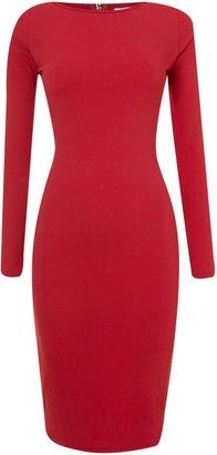 Glamorous 3/4 sleeved midi dress