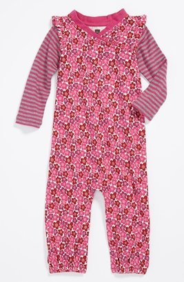 Tea Collection 'Blossom' Coveralls (Baby Girls)