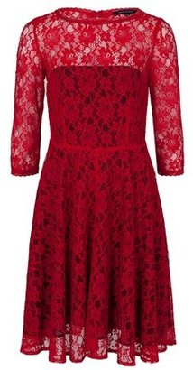 French Connection Fast Iris Lace Dress