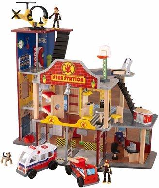 Kid Kraft Deluxe Fire Rescue Play Set